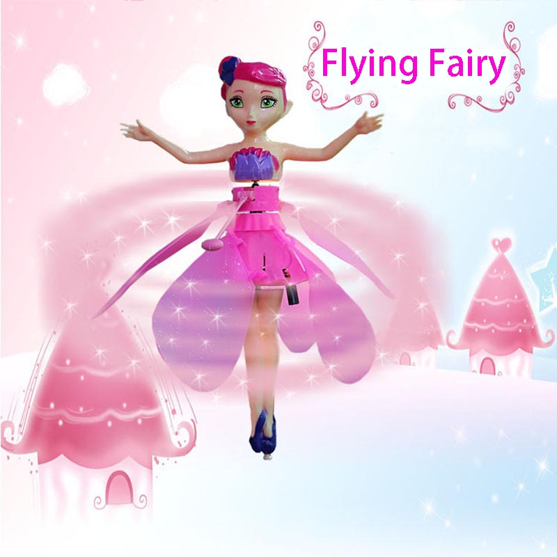 Flying Fairy Magical Princess Cute Dolls Toy Drone