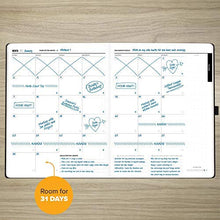 "Load image into Gallery viewer, 1 Year Undated Daily Planner, 8.5"" x 11"" :: Productivity Planner and Organizer for Goal Setting & More, with Easy to Follow Guide Book :: Smart Layout, Sturdy Construction"