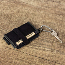 Load image into Gallery viewer, Minimalist Wallet - Slim Front Pocket Wallets For Men With Removable Key-chain Carabiner - Best Thin Wallet For Credit Card And Cash Organization