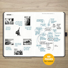 "Load image into Gallery viewer, Undated Productivity Journal, 13 Week Planner Plus 31 Daily Pages, 8.3""x 5.5"""