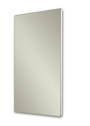 Jensen 1035P24WHG Cove Single-Door Recessed Mount Frameless Medicine Cabinet, 14 by 24-Inch