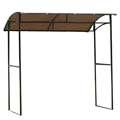 Garden Winds Curved Grill Shelter Gazebo Replacement Canopy - Riplock 350
