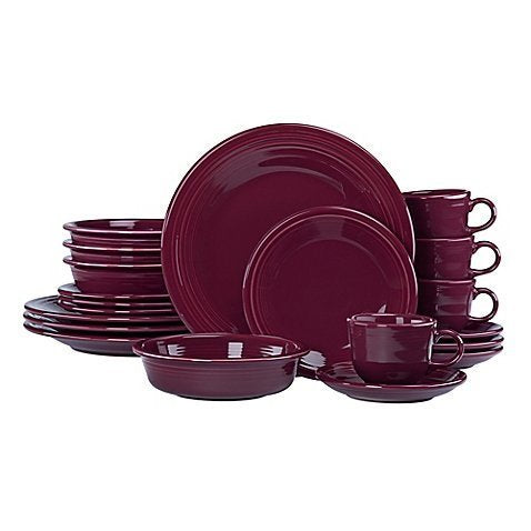 20-Piece Dinnerware Set in Claret