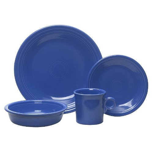 16 Piece Dinnerware Set Color: Lapis