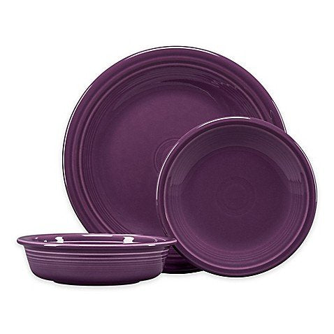 Fiesta 3-Piece Classic Place Setting in Mulberry