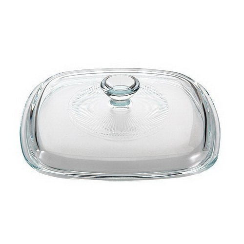 CORNINGWARE StoveTop 2L to 3L Square Glass Cover