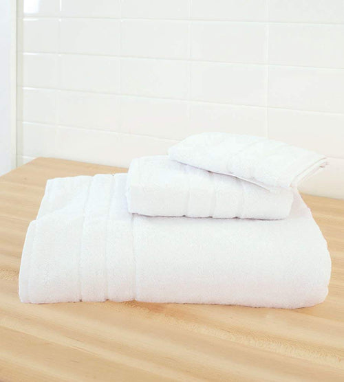 Cariloha Bamboo 3 Piece Towel Set (White)