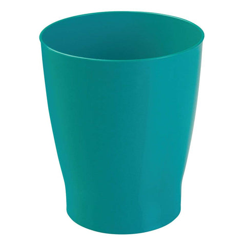 InterDesign Franklin Wastebasket Trash Can - Teal