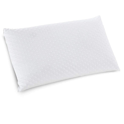 Classic Brands Embrace Firm Ventilated Latex Foam Pillow with Velour Cover, King