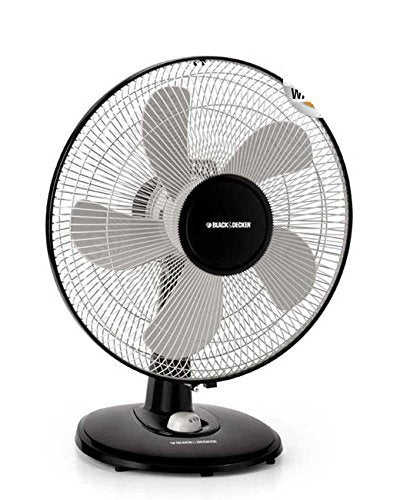 BLACK+DECKER FD1620 3 Speed 16-Inch Desk Fan, 220V (Non-USA Compliant)