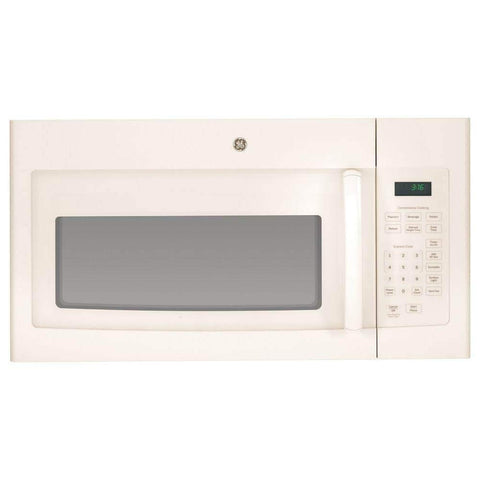 GE MICROWAVES 1029481 1000W 1.6 cu. ft. Over-The-Ran Microwave Oven, Bisque
