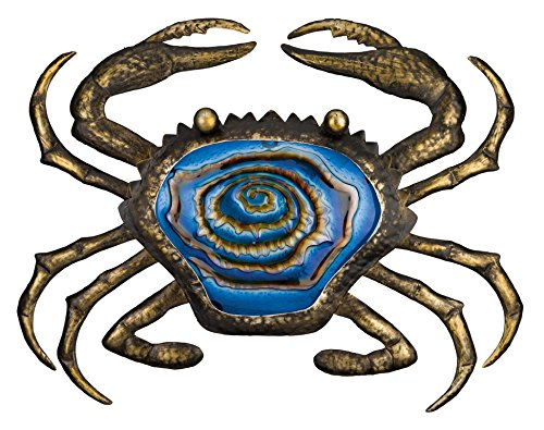 Regal Art & Gift Bronze Crab Wall Decor, 20-Inch