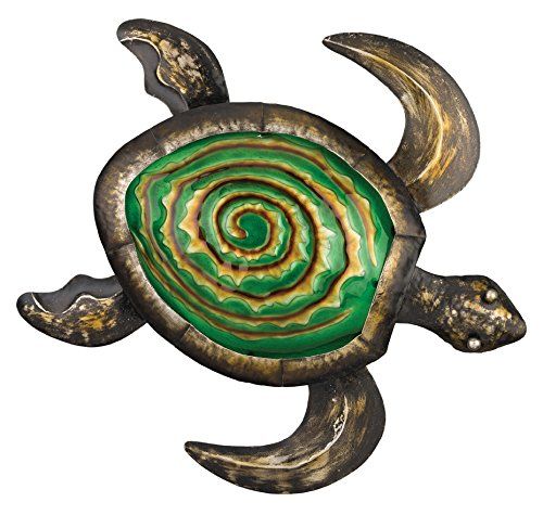 Regal Art & Gift Bronze Sea Turtle Wall Decor, 18-Inch