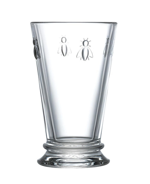 La Rochere Stemless – Napoleon Bee 11 oz clear glass tumbler
