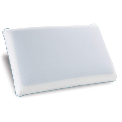 Classic Brands Reversible Gel and Memory Foam Travel Pillow