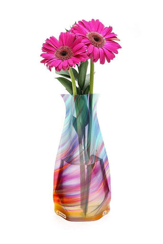 Modgy Collapsible & Expandable Plastic Vase Multi-Pack - NOT GLASS (Expandable Vase 2-Pack)