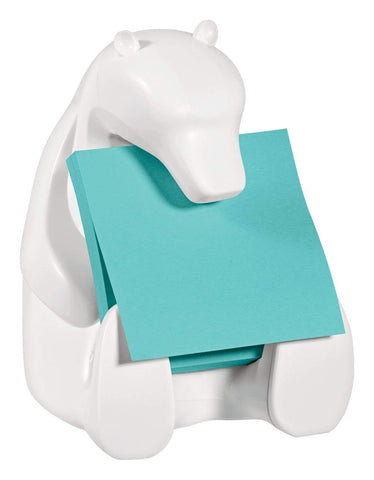 Post-it Pop-up Notes Dispenser for 3 in x 3 in Notes, Includes Black and White Brocade Insert
