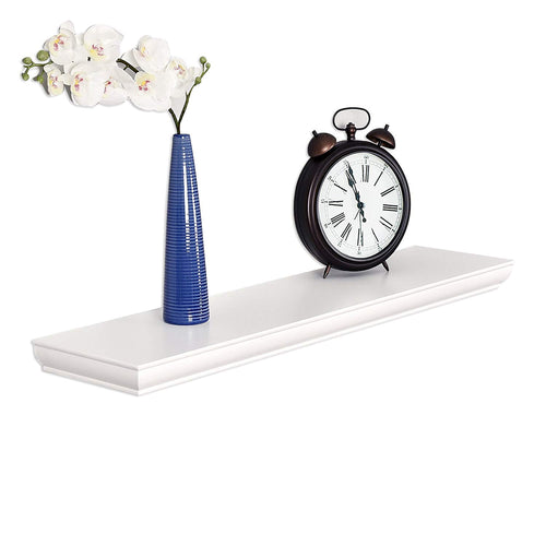 WELLAND Wilson Floating Shelves (36-inch, White)