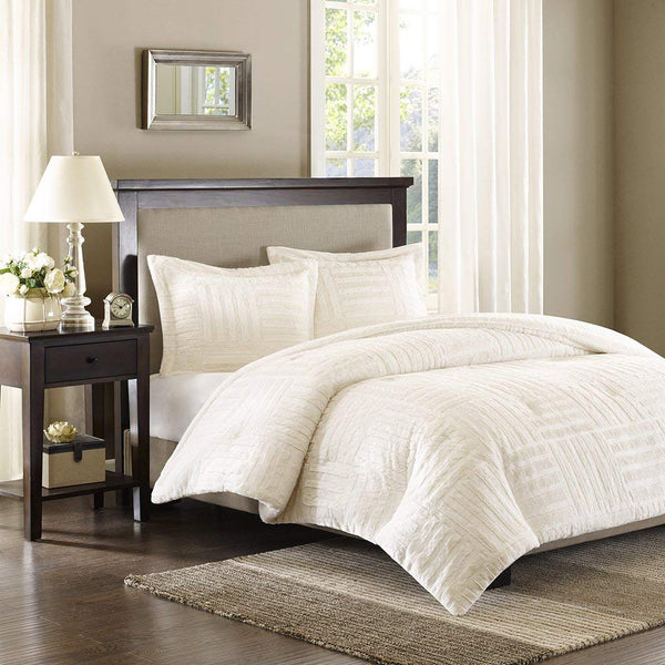 Madison Park Arctic Fur Down Alternative Comforter Mini Set, King/California King