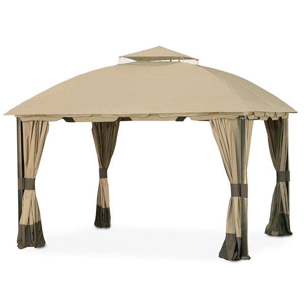 Garden Winds Replacement Canopy for The South Hampton Gazebo-RipLock 350