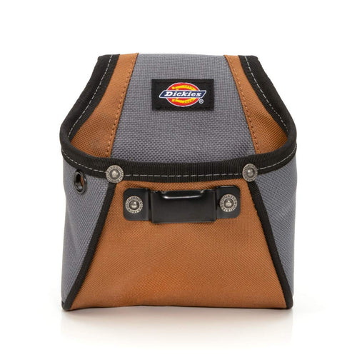 Dickies Work Gear 57101 Rigid Nail/Screw Work Pouch with Tape Measure Clip