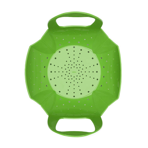 OXO Good Grips Silicone Steamer, Green