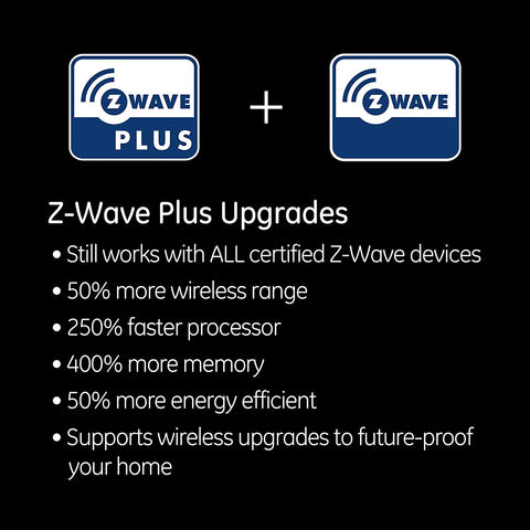 GE Z-Wave Plus Smart Lighting Control Light Switch, Paddle, On/Off, In-Wall, White & Light Almond Paddles, Repeater & Range Extender, Zwave Hub Required- Works with SmartThings Wink and Alexa