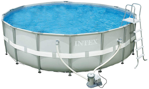 Intex 18-Foot by 52-Inch Ultra Frame Pool Set