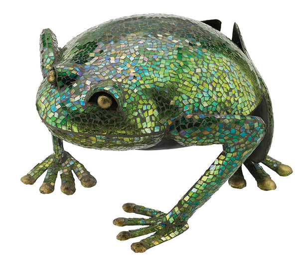 Regal Art & Gift Mosaic Frog Decor, 15""