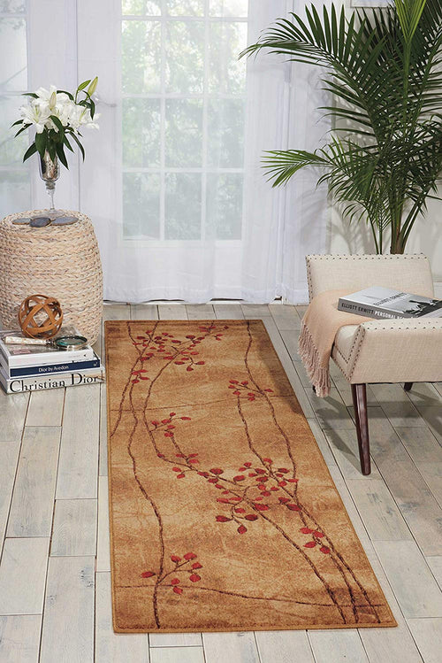 Nourison Somerset (ST74) Latte Brown Area Rug, 2' x 5'9""