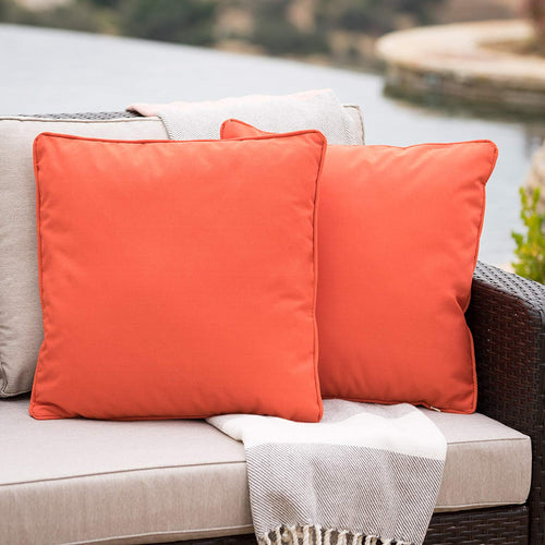 Christopher Knight Home 300739 Coronado Ckh Outdoor Pillow, Orange