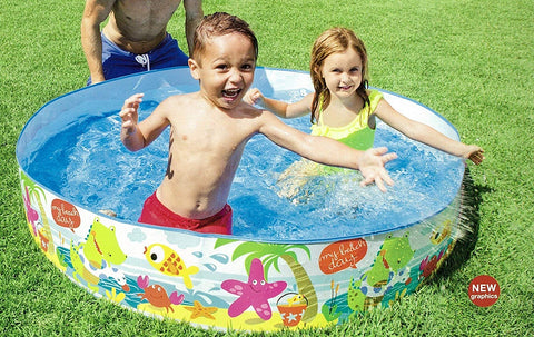 Intex Snorkel Buddies 5ft Snapset Pool - 5'X10