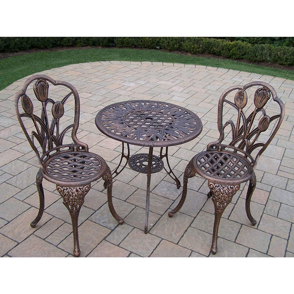 Oakland Living Corporation Tierra 3-Piece Bistro Set