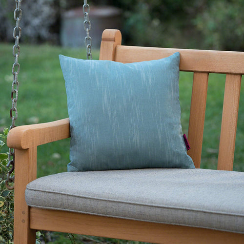 Christopher Knight Home Belflower Outdoor Teal Water Resistant 16 X 16 Square Pillow