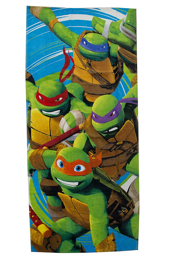 Nickelodeon Teenage Mutant Ninja Turtles Jump Cotton Pool/Beach/Bath Towel