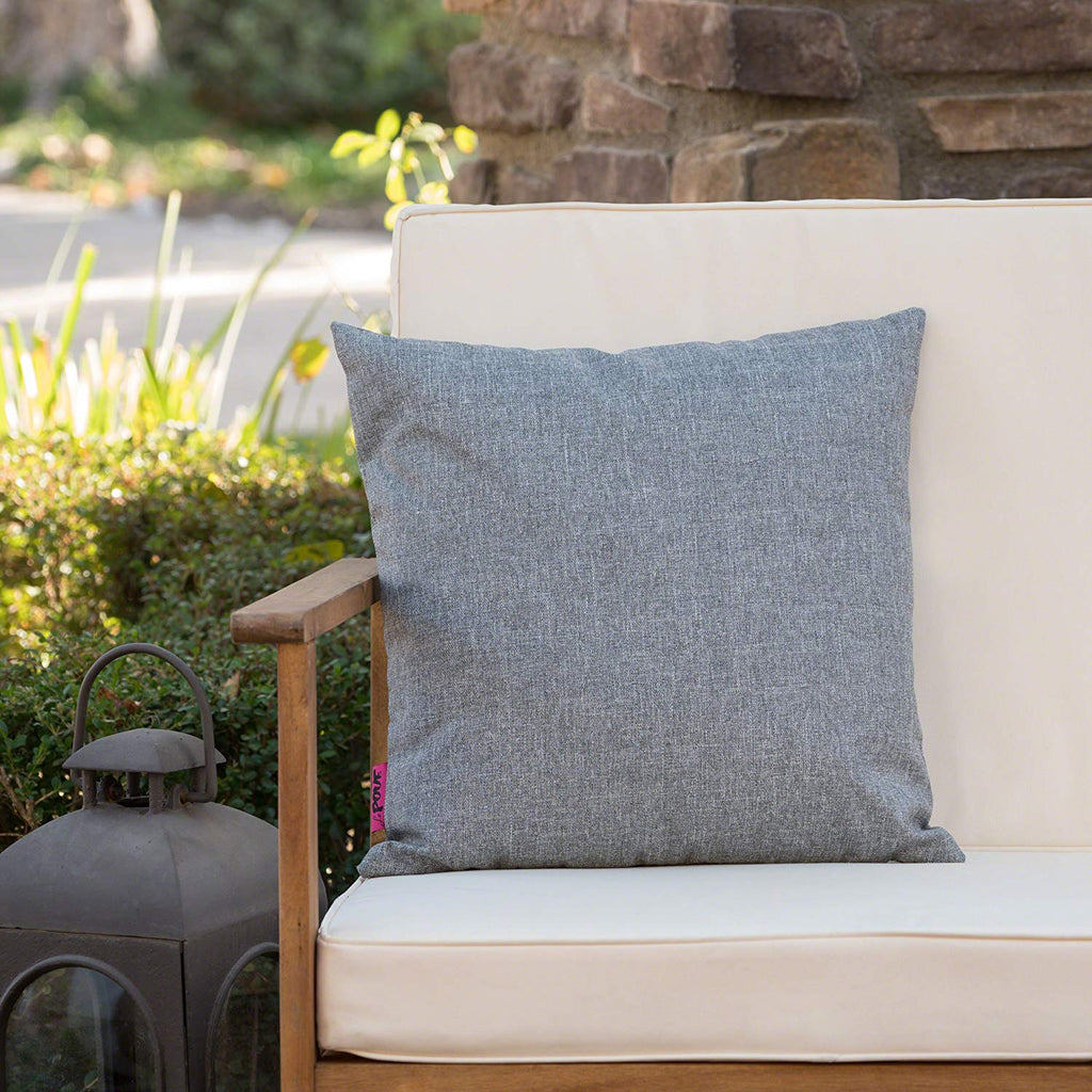 Christopher Knight Home 302947 Coronado Ckh Outdoor Pillow, Grey