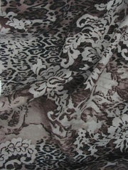 Silk Linen Animal Print Bengal