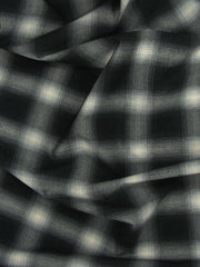 Checks Stretch Polyester Rayon Spandex Blur