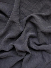 Pure silk jacquard double sided sandwashed chekov