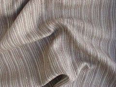 Metal Thread Cotton Polyester Blend Coco Coffee