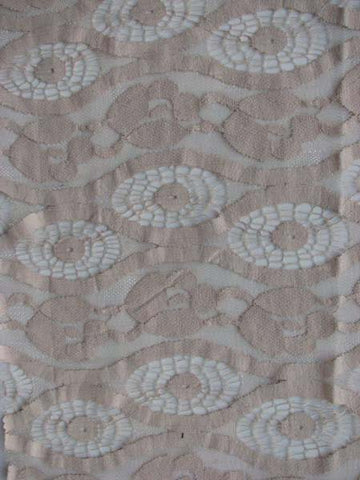 Embroidered Lace Cotton Nylon Cyclone