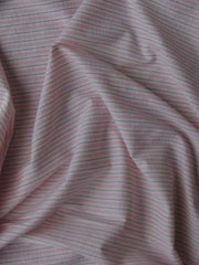 striped stretch cotton polyester spandex Gap pink