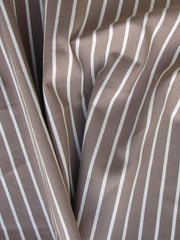 Striped cotton nylon blend Gatsby