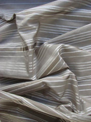 Silk Cotton Blend Striped Lauren