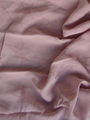 Pink Jacquard Georgette Rayon Replay
