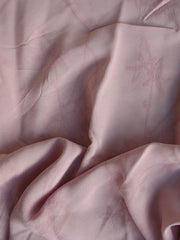 Rayon Georgette Jacquard Replay pink