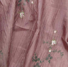 Polyester Crushed Taffeta Ruby