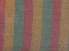 Pure Silk Print Striped Silk Organza Fushia