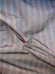 pure silk stripes organza wholesale