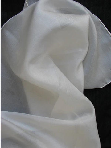 pure silk scarf pageant dyeable